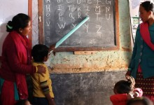 ECD classroom in Kavre