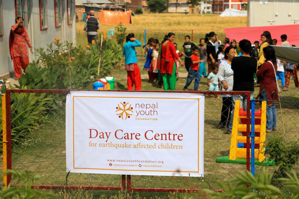 NYF Emergency relief day care centers Emergency Relief